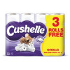 Cushelle 2-Ply Toilet Rolls White Pack 12 for the price of Pack 9