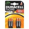 AAA Duracell Plus Batteries PK4