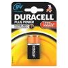 9V Duracell Plus Batteries PK1