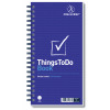 Challenge Planning Book Things to do Today Wirebound Perforated 115pp 280x141mm