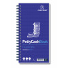 Challenge Petty Cash Book Carbonless Wirebound 200 Sets in Duplicate 280x152mm