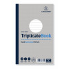 Challenge Triplicate Book Ruled Carbonless 100 Sets 210 x 130mm Pack of 5 100080445