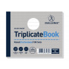 Challenge Triplicate Book Carbonless Ruled 100 Sets 105x130mm Ref 100080471 [Pack 5]