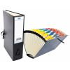 Elba Mylar Expanding File 16-Pocket Black 100080766