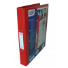 Elba Vision 4 Ring Binder PVC A4 Red 100080880