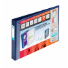 Elba Vision A3 4D-Ring Binder 30mm Oblong Blue 100080865