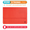 Elba StrongLine Manilla Document Wallet 320gsm 32mm Foolscap Red Ref 100090136 [Pack 25] [REDEMPTION]