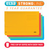 Elba StrongLine Manilla Document Wallet 320gsm Foolscap Assorted Ref 100090138 [Pack 25] [REDEMPTION]