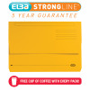 Elba Strongline Manilla Document Wallet 320gsm Capacity 32mm Foolscap Bordeaux Ref 100090139 [Pack 25]