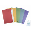 Elba Square Cut Folder Mediumweight 250gsm Foolscap Assorted (Pack of 25) 100090142