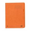 Elba A4 Square Cut Folder Recycled Lightweight 180gsm Manilla Orange Ref 100090205 [Pack 100]