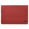 Elba Document Wallet Half Flap 285gsm Capacity 30mm A4 Red Ref 100090247 [Pack 50]