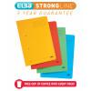 Elba StrongLine Spiral Transfer Spring File 320gsm Foolscap Assorted Ref 100090330 [Pack 10] [REDEMPTION]