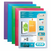 Pentel Recycology Fresh A4 Display Book 20 Pocket Assorted (Pack of 4) DCF542/MIX