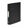 Elba Ring Binder Heavyweight PVC 2 O Ring Size 25mm A4 Black