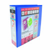 Elba Panorama Blue A4 Plus Presentation Lever Arch File Pack of 5 400008438