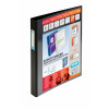 Elba Vision A3 Portrait Black 30mm 4 D-Ring Binder 100080864