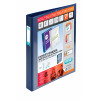 Elba Vision 30mm 4D-Ring Binder Upright A3 Blue 100080862