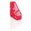 Basic Magazine Rack File Foolscap Red