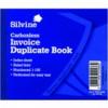 Silvine Twin Wire Carbonless Duplicate Memo Book 1-100 4x5