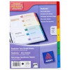 Avery Ready Index Dividers With Coloured Mylar Tabs 1-5