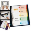 Avery Ready Index Dividers With Coloured Mylar Tabs 1-10