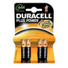 Duracell Duralock Plus Power Batteries AAA Pack 4
