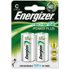 Energizer Battery Rechargeable Advanced Size C 1.2V NiMH 2500mAh HR14 1 Pack 2