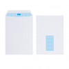 Initiative Envelope C5 Self Seal Window 100gsm White Pack 500