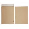 Initiative Envelope 25mm V-Base Gusset Pocketed Plain Peel n Seal 406x305x25 120gsm Manilla Pack 125