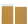 Initiative Envelope 25mm V-Base Gusset Pocketed Plain Peel n Seal 356x254x25 120gsm Manilla Pack 125