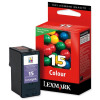Lexmark No 15 Ink Cartridge Colour 018C2110E