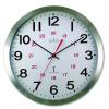 Acctim Century Radio Controlled Aluminium Case Wall Clock