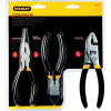 Stanley 3-Piece Pliers Set