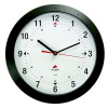 Round Wall Clock 30cm Black