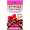 Twinings Infusion Cranberry and Raspberry Tea Bags Pack 20
