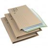 Initiative Economy Kraft Square Cut Folders 170gsm Foolscap Buff 100% recycled