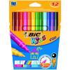 Bic Kids Visa Felt Pens Wallet 12