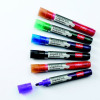 Nobo Liquid Ink Drymarkers Assorted Pack 6