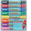Artline 2-in-1 Watercolour Flipchart Marker Assorted Pack 8