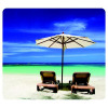 Fellowes Earth Series Recycled Mouse Pad Beach Chairs