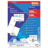 Decadry Postcards Microperforated 200gsm 4 per A4 Sheet 148.5x105mm Pack 100
