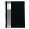 Pukkapad A4 Wirebound Manuscript Book Black