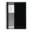 Pukkapad A5 Wirebound Manuscript Book Black