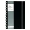 Pukkapad A5 Poly Jotta Notebook Black