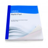 Initiative Refill Pad A4 70gsm Feint Ruled and Margin Punched 4 Hole 400 pages