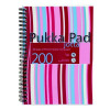 Pukka Pad Polypropylene Jotta Book A5 Assorted Colours Pack 3