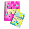 Pukka Pad Recycled Wirebound A4 Pink/Blue 200 Pages