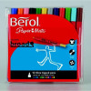 Berol Colourbroad Pens Assorted Pack 12
