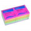 Initiative Sticky Notes Assorted Neon & Pastel 76x76mm 100 Sheets